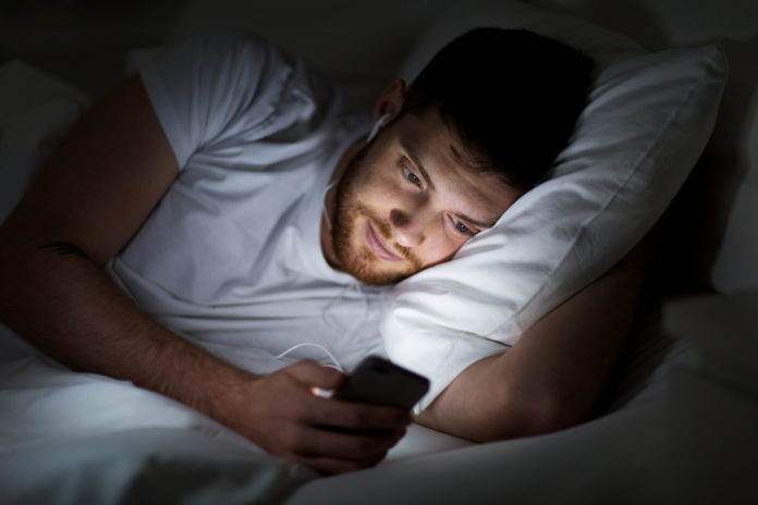 Don't check your phone during bedtime