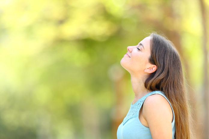 Fresh air against stress