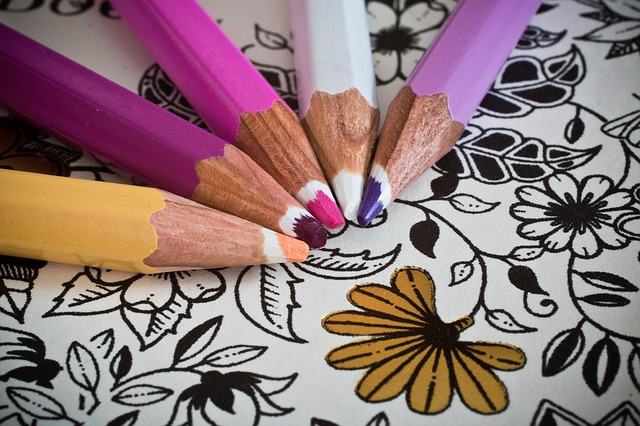 Try a coloring book for adults