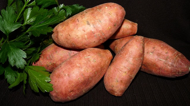 Reduce stress with sweet potatoes